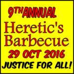 9th Annual Heretic's Barbecue