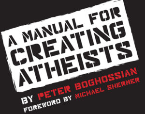 """Manual For Creating Atheists"" - artwork"