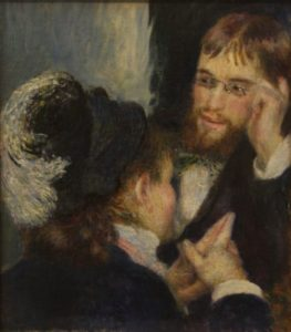 """Conversation"" by Pierre-Auguste Renoir"