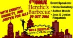 Heretic's Barbecue in One Week!